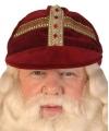 Sinterklaas luxe sinterklaas werkmijter fluweel