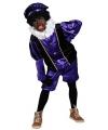Sinterklaas paars pieten kostuum voor kids