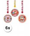 Sinterklaas rotorspiralen sint 6 stuks