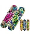 Skateboard met graffitiprint deluxe