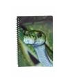 Slangen notitieboek 3d 21cm