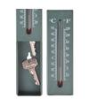 Sleutel verstop thermometer voor buiten