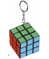 Sleutelhanger kubus 3 cm