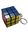 Sleutelhanger met rubiks kubus