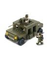 Sluban pantserwagen met geweer 23 7 x 19 cm