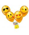 Smiley ballonnen 8 stuks