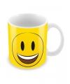 Smiley mok lachend gezichtje