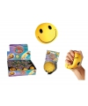 Smiley stressbal 6 cm