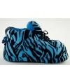 Sneaker sloffen dames tijger blauw