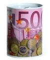 Spaarpot 500 euro