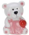 Spaarpot beer met rood hartje