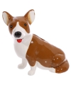 Spaarpot corgi hond 14 cm