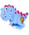 Spaarpot dinosaurus blauw