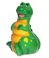 Spaarpot dinosaurus groen 16 cm