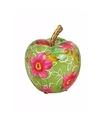 Spaarpot groene appel 14 cm