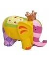 Spaarpot olifant met sterretjes