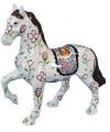 Spaarpot paard wit