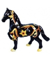 Spaarpot paard zwart geel