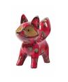 Spaarpot vos rood 20 cm