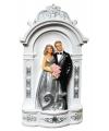 Spaarpot zilveren bruidspaar 25 jaar