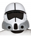 Space trooper helm wit