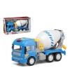 Speelgoed betonwagen blauw 30 x 18 cm