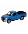 Speelgoed blauwe ford f 150 auto 12 cm