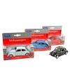 Speelgoed blauwe volkswagen kever classic auto 14 5 cm
