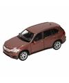 Speelgoed bruine bmw x5 auto 1 36