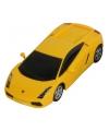Speelgoed gele lamborghini gallardo auto 16 cm