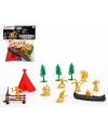 Speelgoed indianen met tent
