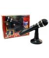 Speelgoed microfoon met standaard
