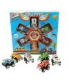 Speelgoed monstertrucks 6 stuks