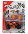 Speelgoed motor oranje