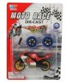 Speelgoed motor rood