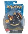 Speelgoed pokeball met eevee 6 cm
