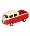 Speelgoed rode volkswagen t1 pick up auto 1 36