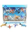 Speelgoed vliegtuigen set