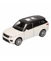 Speelgoed witte range rover sport auto 1 36
