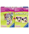 Spel memory en puzzel minnie mouse