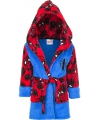 Spiderman badjas blauw rood