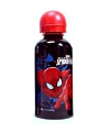 Spiderman drinkfles blauw