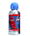 Spiderman drinkfles zilver