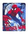 Spiderman fleecedeken 120 x 140 cm