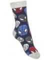 Spiderman jongens sokken blauw type 1