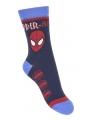 Spiderman jongens sokken blauw type 2