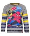 Spiderman t shirt grijs gestreept