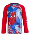 Spiderman t shirt grijs met rood