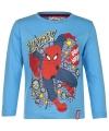 Spiderman t shirt licht blauw voor jongens