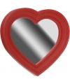 Spiegel hart vorm rood